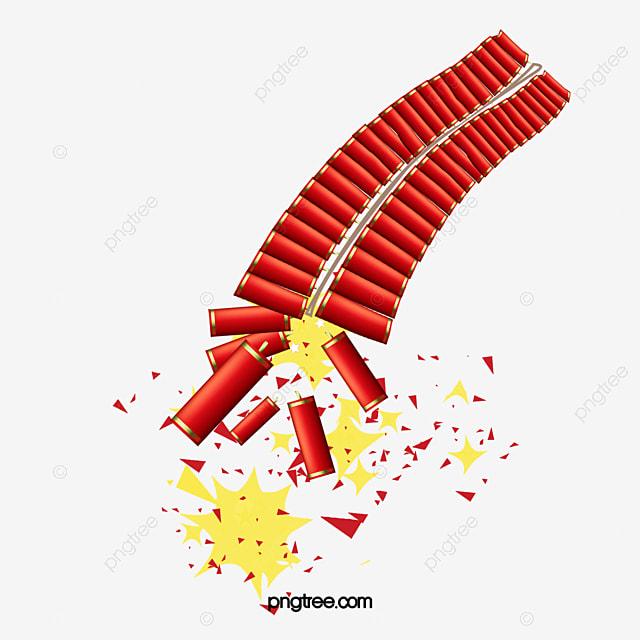 Firecrackers Fireworks, Fireworks Clipart, Spring, Chinese ...