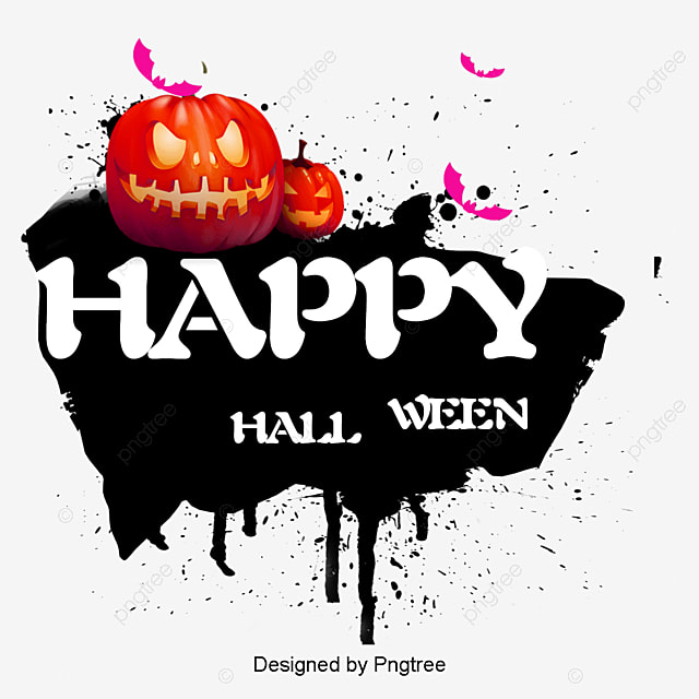 Delightful Happy Halloween Happy,Halloween, Happy Halloween Happy, Halloween Halloween  Halloween Pumpkin Bat, Happy Free PNG And PSD Great Pictures