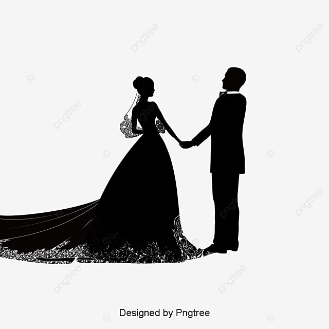 Creative wedding silhouette bride and groom wedding marry png creative wedding silhouette bride and groom wedding marry free png and vector junglespirit Gallery