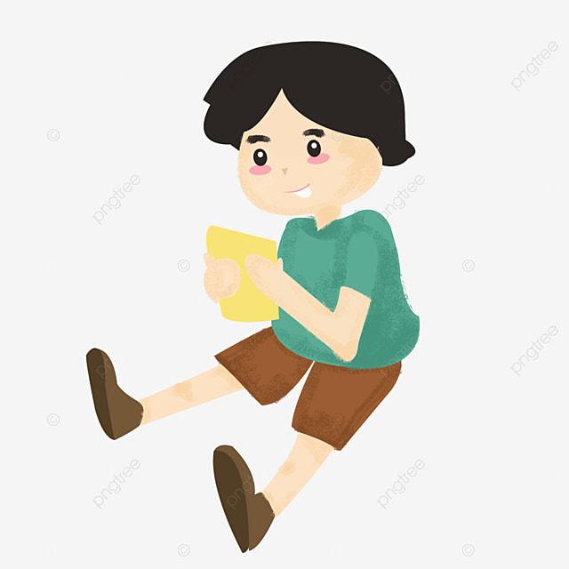 Los Niños De Dibujos Animados Marco, Cartoon, Pintado A Mano, Niño ...