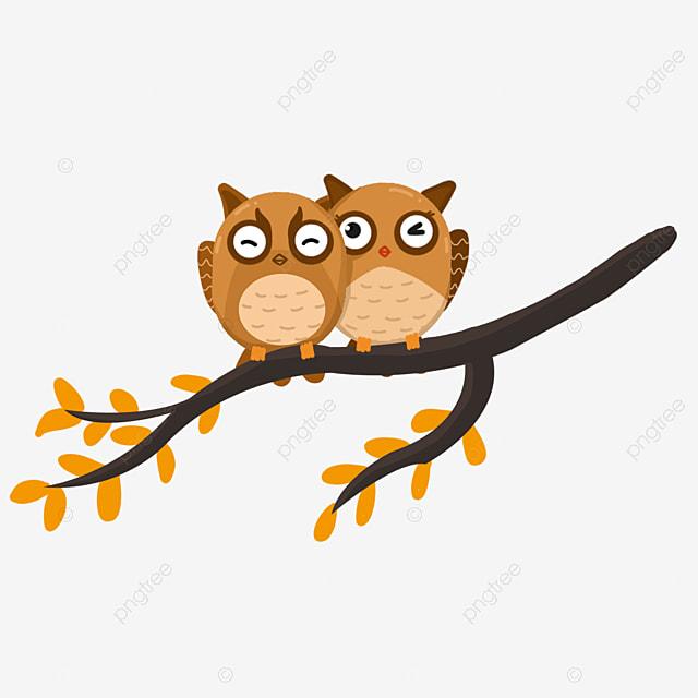 Beberapa Burung Hantu Comel Kartun Seni Imej Png Dan Clipart Untuk