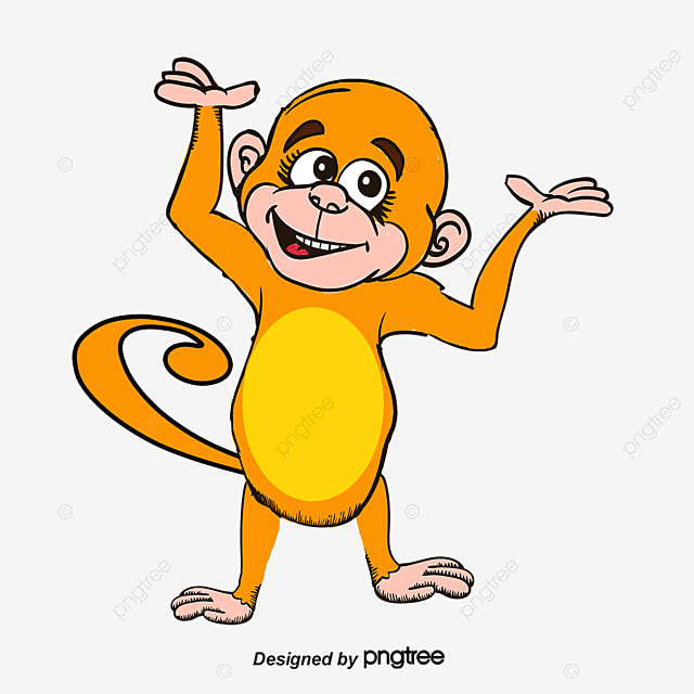 monkey cartoon monkey vector monkey png and vector for free download rh pngtree com monkey vector png monkey vector free