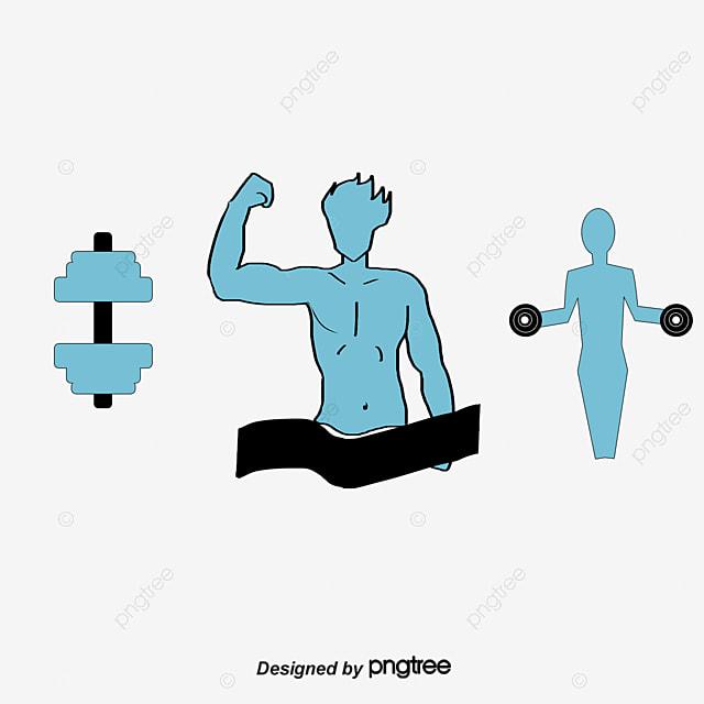Gym Equipment Logo: Fitness Logo Icon, Fitness Vector, Logo Vector, Icon