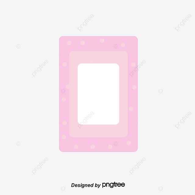 Frame Cartoon Baby Vector Material Descargado, Cartoon Frame, Bebe ...