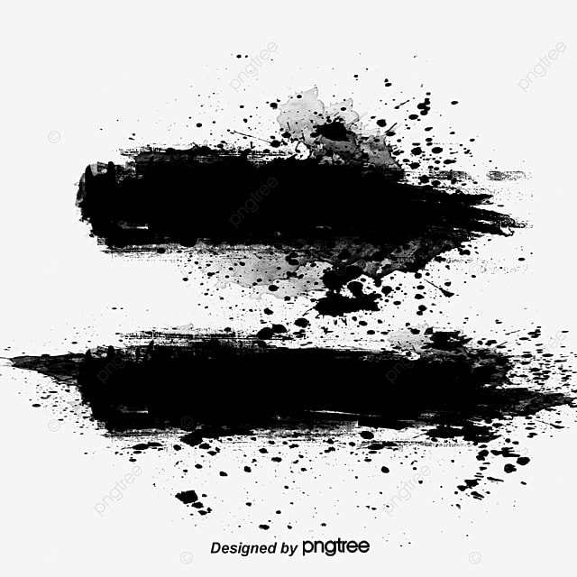 Ink Brush Effect, Ink, Watercolor, Brush PNG And Vector