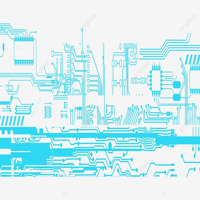 la carte de circuit imprim u00e9 de fond vert la carte de circuit imprim u00e9 ligne png et vecteur pour