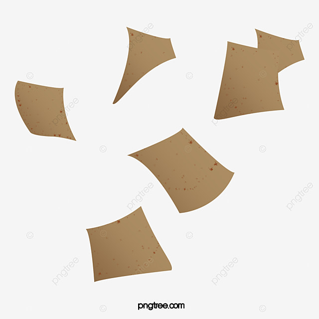 scattered paper fly float png image and clipart for free download