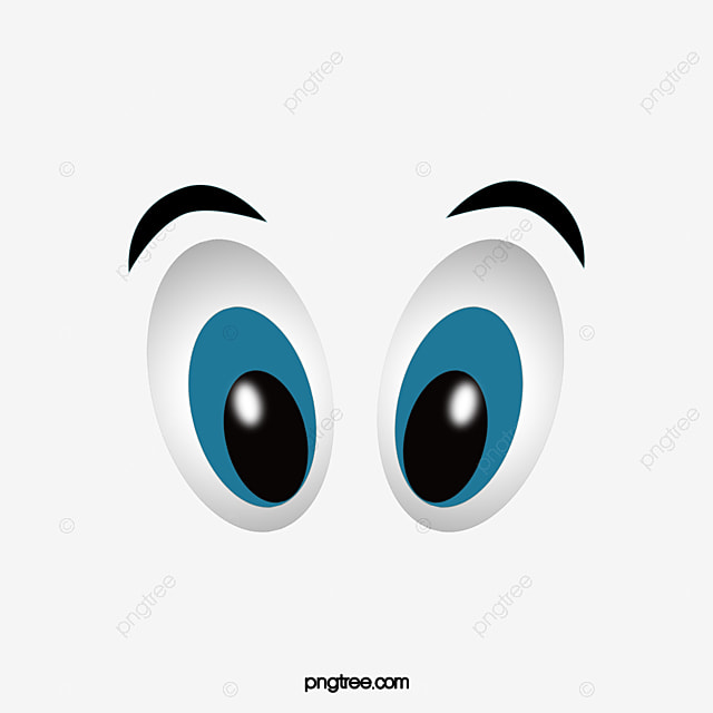 Cartoon eyes png