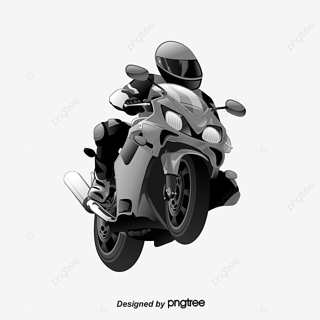 motorcycle png clipart  People Riding A Motorcycle, People Clipart, Motorcycle Clipart, Hand ...