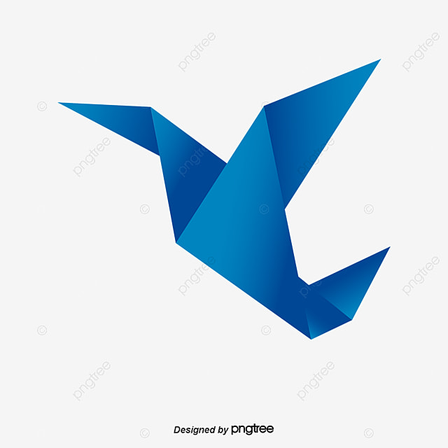 Origami Birds Vector Bird PNG And