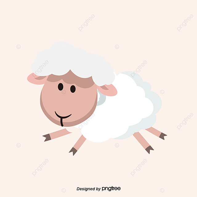 cartoon animals poultry and livestock sheep free png and vector - Images Cartoon Animals