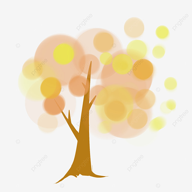 Bright Color Abstract Tree Color Clipart Tree Clipart Abstract Tree Png Image And Clipart For