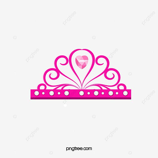 cartoon princess crown vector material cartoon crown princess rh pngtree com princess crown vector free princess crown vector image