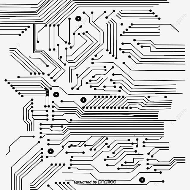 circuit board diagrama de circuito motherboard png y
