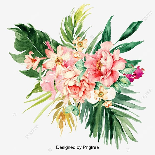 Watercolor Flowers Png Vector Psd And Clipart With: Bohemia, Watercolor, Flower PNG Transparent Clipart Image