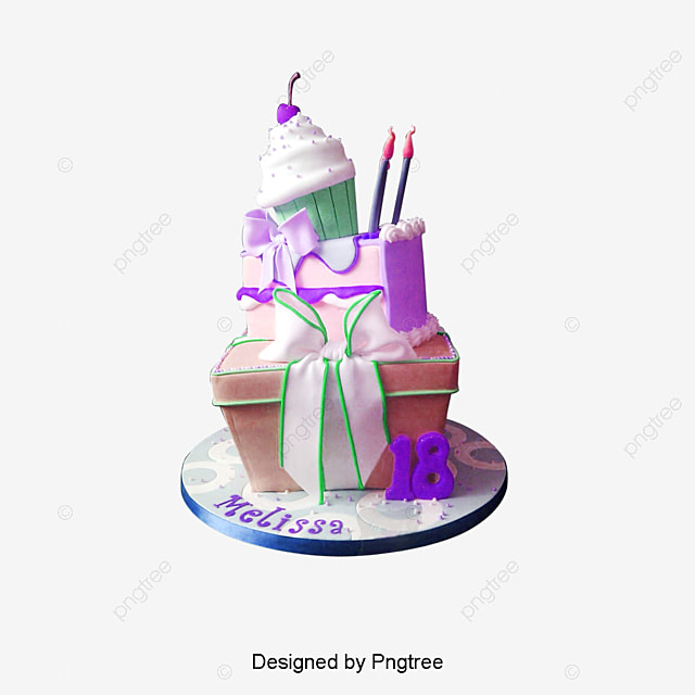 Birthday Cake Fondant Birthday Cake Png And Psd File For Free