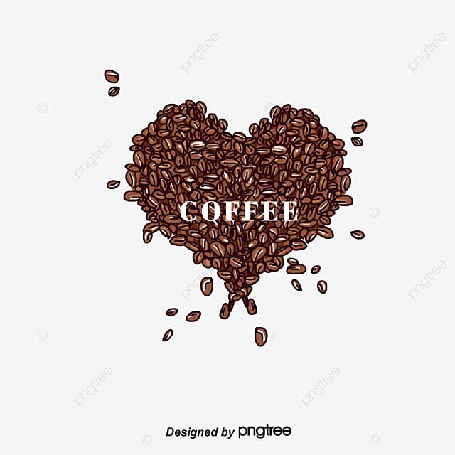 Heart shaped coffee beans heart coffee beans brown png and psd heart shaped coffee beans heart coffee beans brown png and psd voltagebd Image collections