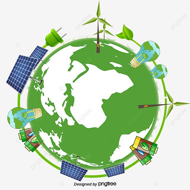 éclairage à énergie Solaire De L La Terre