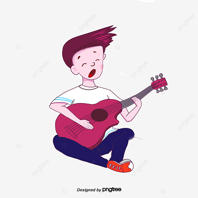 Singing Boy Cartoon Boy Vector Boy Png And Vector For