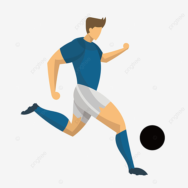 soccer player cartoon players vector athletes png and vector for