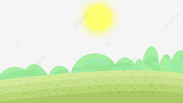Arboles Grove, Cartoon, Vista En Planta, Paisaje Imagen