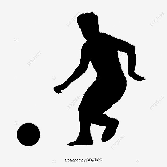 soccer player  cartoon players  vector athletes png and football players vector images football players vector art black and white