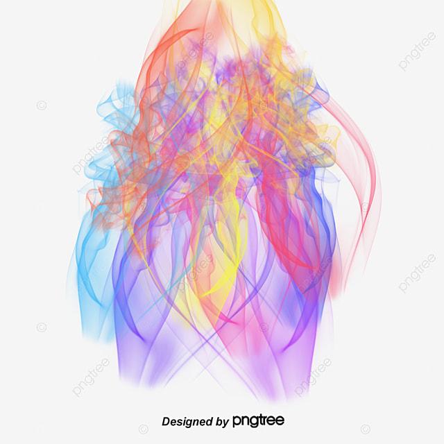 Multicolored Smoke Effects Colored Smoke Colorful