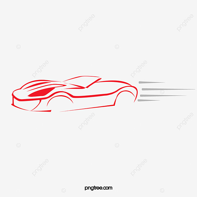 Vector Drawing Lines Html : Vector car clipart line drawing png image and