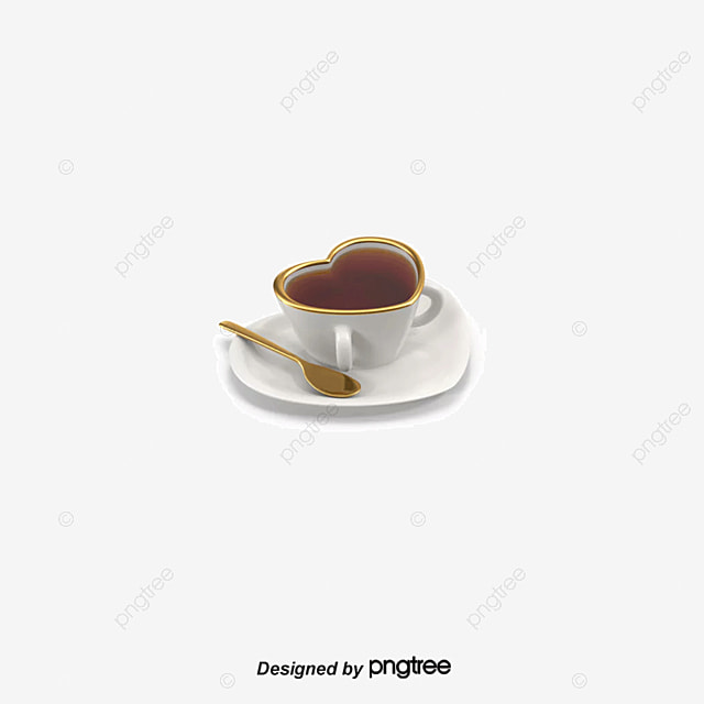 Valentine Coffee, Valentineu0027s Day Present, Coffee PNG And PSD