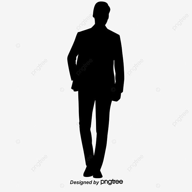 people standing silhouette people vector silhouette