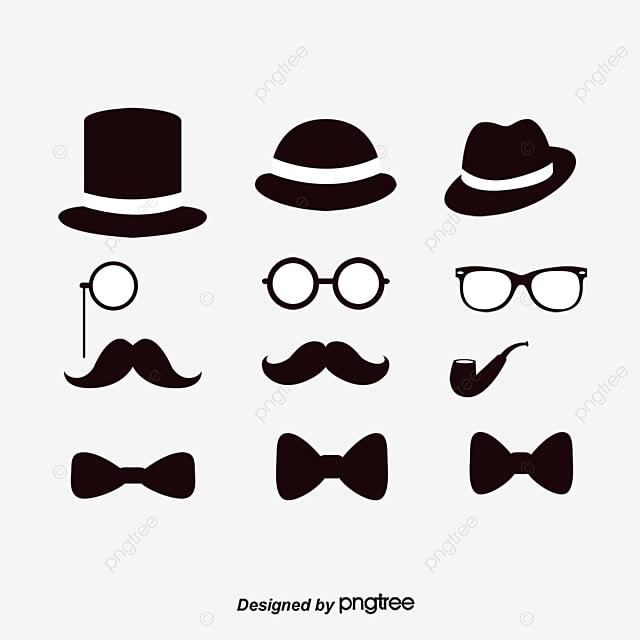 Moustache la mod lisation dessin png et vecteur pour - Dessin de moustache ...