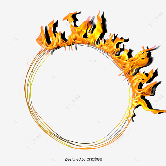 Ring Of Fire Flame Flames Fire Png And Vector For Free Download Rh Pngtree  Com