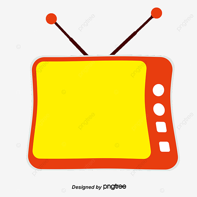 Tv Set Tv Vector Cartoon Tv Png And Vector For Free Download