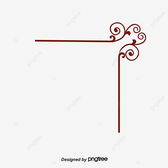 padr u00e3o de borda decorativa padr u00e3o flores lace png e vetor