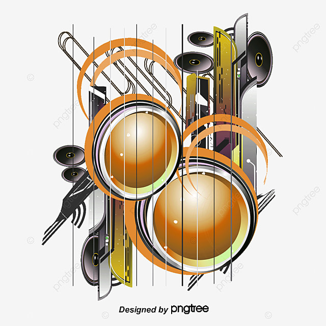 Abstraction Dynamic Music Music Vector Abstract Music Png And