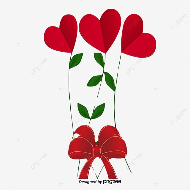 Flores de amor Gratis PNG y Vector