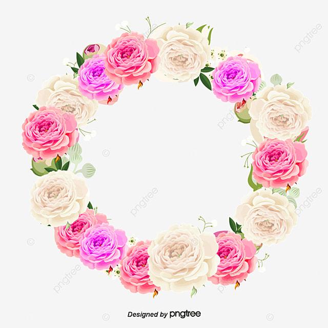 Corona de flores png - Coronas de flore ...
