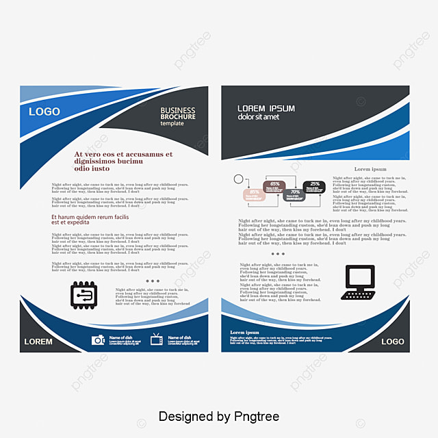 fashion business single page one page brochure fashion folding flyer template png and