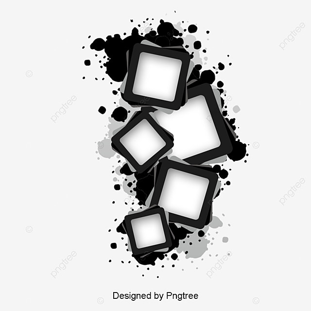 ink border trend abstract abstract background png and