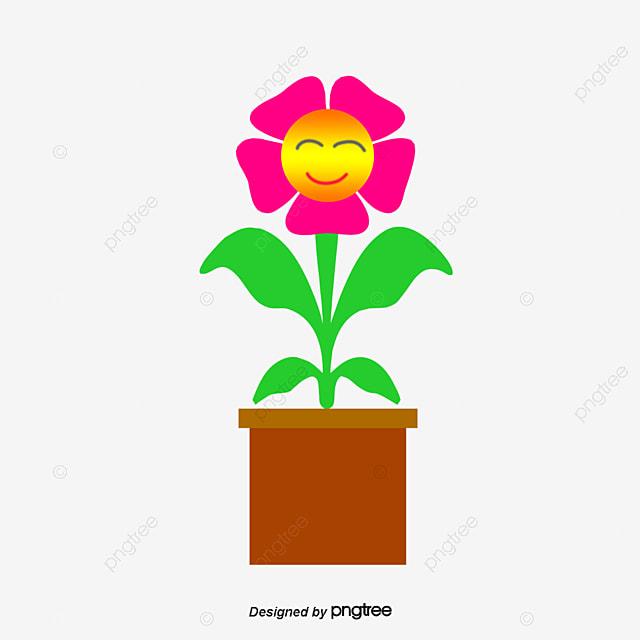 Dibujos animados de nueva planta en maceta dibujos de for Imagenes de plantas en macetas