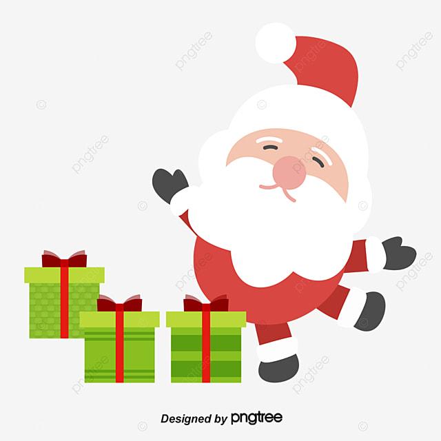 Desenhos Animados Desenhos Natal Papai Noel Cartoon No Dia