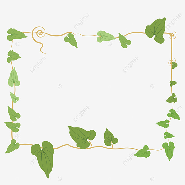 Fresh border green leaves frame plant frame png image and clipart for free download - Marcos para plantas ...