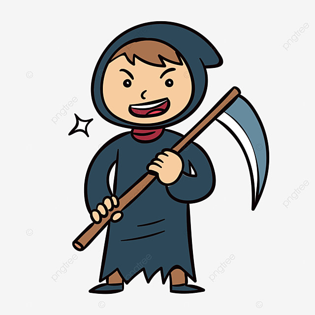 grim reaper sickle black png image and clipart for free download rh pngtree com grim reaper clip art free grim reaper clipart free
