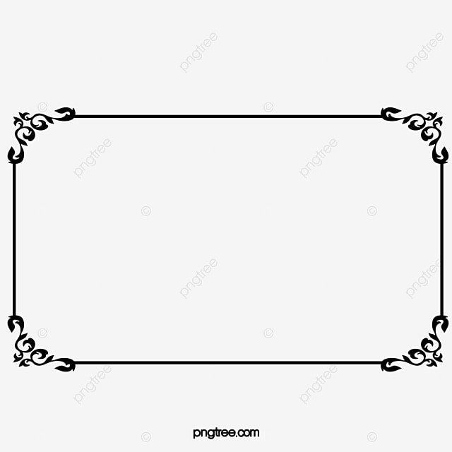 Retro Borders Decorative Borders Frame Png Image And