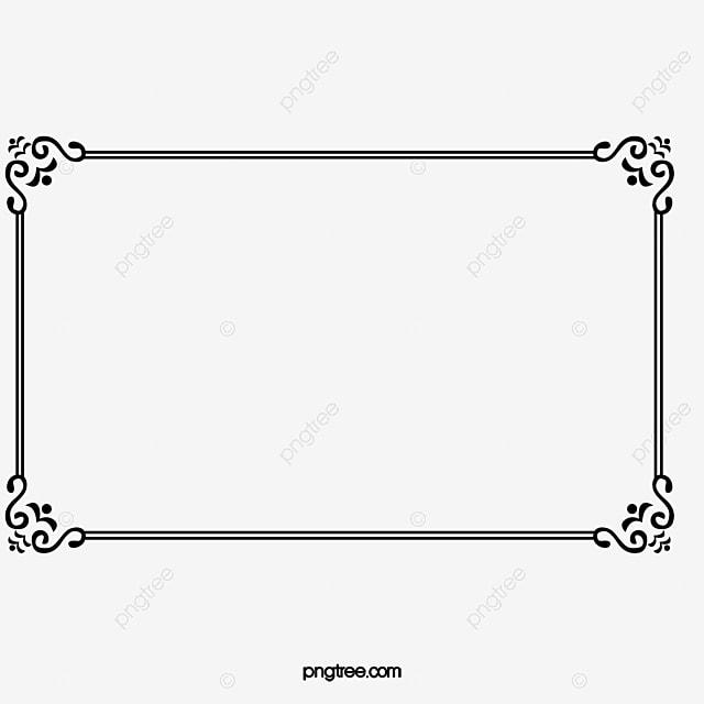 decorative line borders png