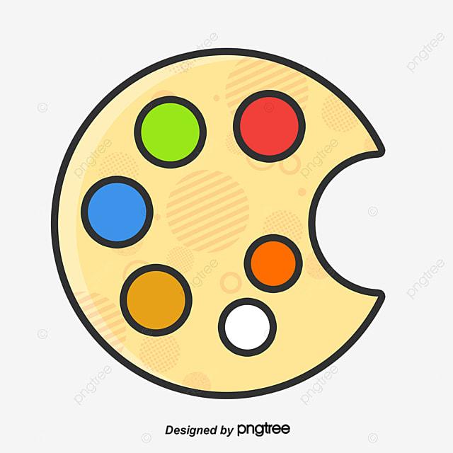 A paleta de cores pintura a cor arquivo png e psd para - Paleta de pinturas ...