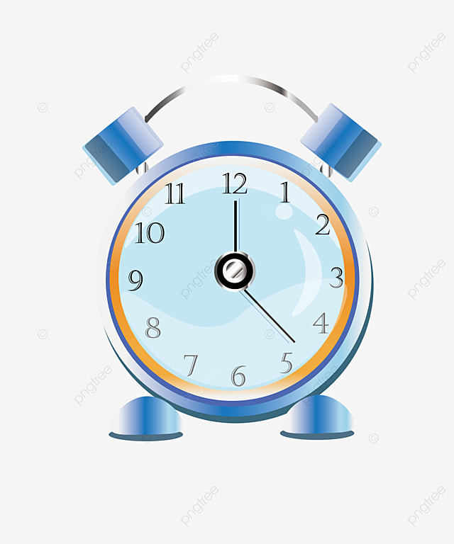 Alarm Clock Bell Time Png And Vector