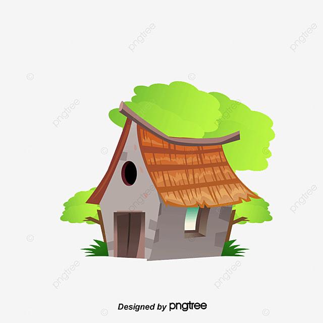 Une Petite Maison De Dessin Petite Maison Dessin Paysage Png Et