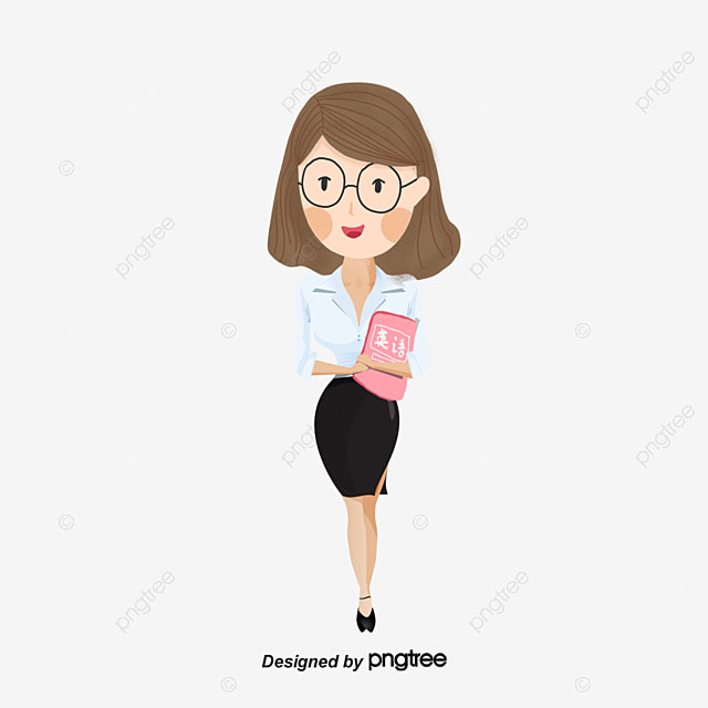 cartoon woman images - 594×747