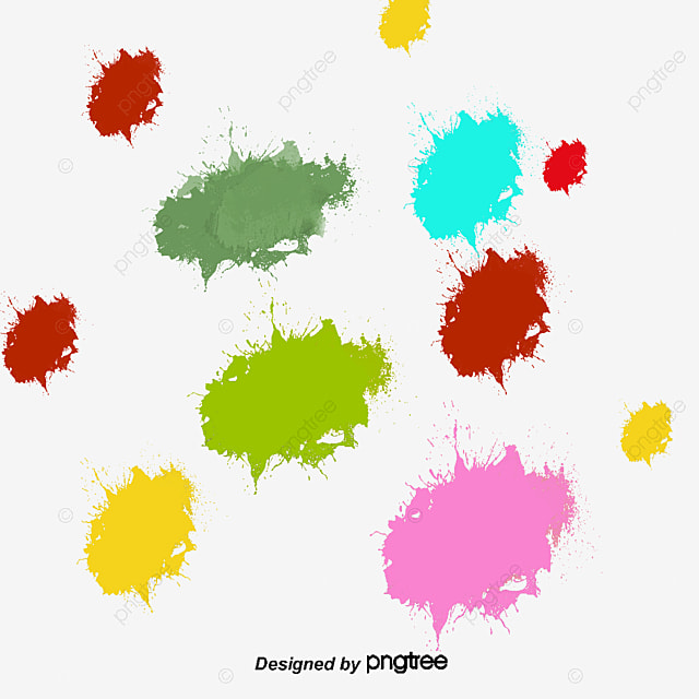 paint splash effect bright brush watercolor png and vector for rh pngtree com vector paint splatter free paint splatter vector brushes illustrator